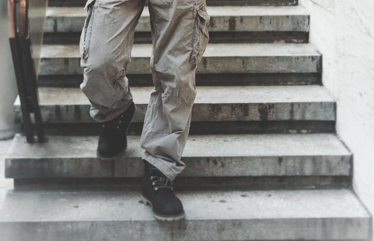Ranuras para el cambio Taller para hombres